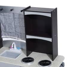Kids Kitchen Furniture Aosom Homcom Modern Deluxe Kids Kitchen Playset Gray Dark
