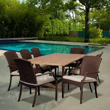 Patio Furniture At Home Depot - 8 9 person glass patio dining furniture patio furniture