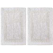 Reversible Bath Rugs Moda At Home 454544 Serene Oval Bath Rug Reversible