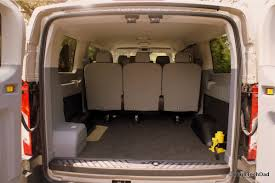 a surprisingly good vacation van 2015 ford transit wagon xlt