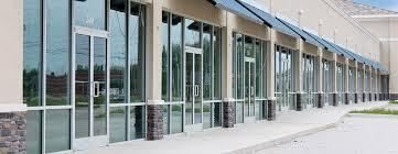 store front glass doors storefront glass u0026 windows replacement cracks arkansas city ks