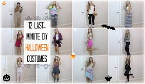12 last minute diy halloween costumes mel joy youtube
