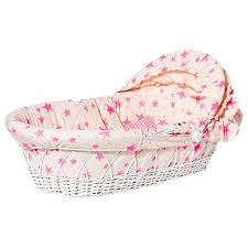 noe zoe noe zoe baby bassinet neon pink advice from a caterpillar