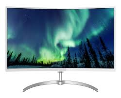 curved lcd monitor with ultra wide color 278e8qjaw 69 philips
