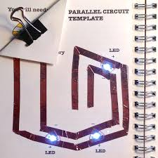 Simple Circuit Diagrams Beginners Learn Chibitronics