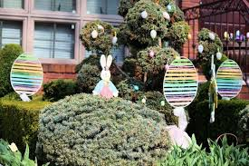 Outside Easter Decorations Ideas by Outdoor Easter Decorations Solar Design