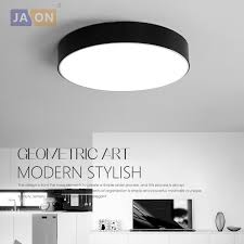 Lighting Ceiling Fixtures Led Modern Acryl Alloy Black White Led L Led Light