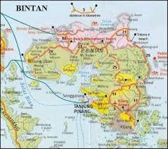 map batam 8 best peta bintan images on bintan island batam and