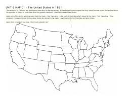 Map Of The United States In Color by
