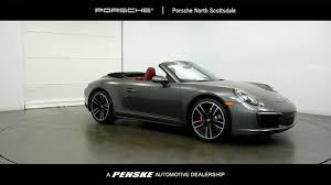 porsche 4s cabriolet 2017 porsche 911 4s cabriolet at penske automall az