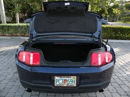 mustang trunk space 2012 ford mustang v6 premium for sale in fort myers fl stock
