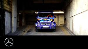 two master mercedes benz g class strong stories two master artists youtube