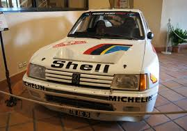 peugeot 205 group b 1985 peugeot 205 turbo 16 museum exhibit 360carmuseum com