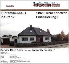 einfamilienhaus treuenbrietzen zu verkaufen immobilienmakler