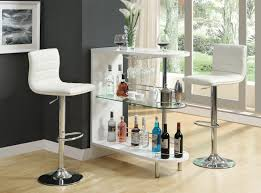 Modern Bar Furniture by Coaster Fine Furniture 101064 120345 Contemporary Bar Table Set