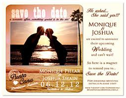 Destination Wedding Save The Date Beachy Glow Destination Wedding Save The Date Magnet