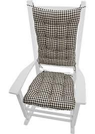 amazon com outdoor rocking chair cushion set solid marine blue
