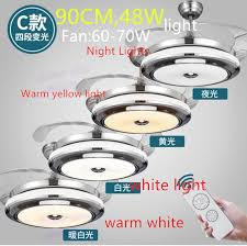 Changing Ceiling Light Aliexpress Buy 4 Color Changing Light Modern Led Invisible
