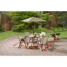 Walmart Table Umbrellas Outdoor Cute Colorful Mainstays Umbrella For Patio Accessories