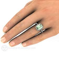 green amethyst engagement ring the 25 best green amethyst engagement ring ideas on