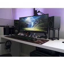 69 best desk images on pinterest pc setup desk setup and