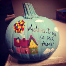 disney up pumpkin painted pumpkins pinterest pumpkin