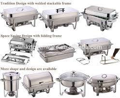 how to set a buffet table with chafing dishes stainless steel chaf dish warming tray restaur food warmer catering