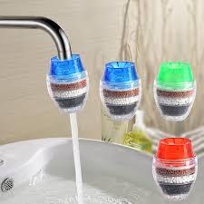 kitchen water filter faucet 1pc coconut carbon home kitchen faucet tap water clean purifier