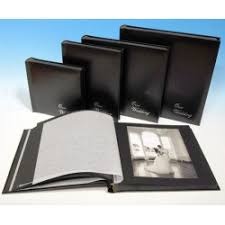 wedding albums online large black contemporary wedding albums online