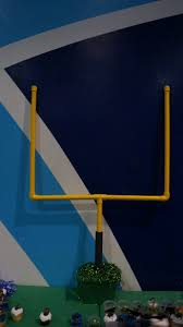 Backyard Football Goal Post Field Goal Post By Lesley Vennero Made Out Of Pvc Pipe Football