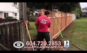 cedar fencing vancouver cedar fence panels u0026 installation