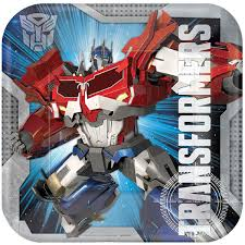 transformers party supplies transformers party supplies transformers dinner plate