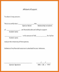 letter of affidavit template lukex co