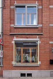 row home design news de vylder vinck taillieu row house refurbishment edingen 2