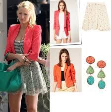 gossip girl earrings stasha fashion gossip girl season 5