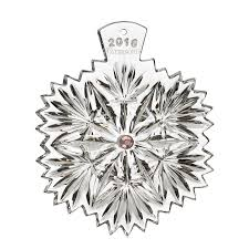 waterford snowflake wishes serenity ornament 2016