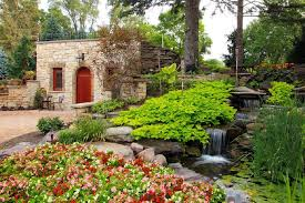 Tuscan Garden Decor Landscape Design Suburban Area 106 Photos Styles Options Ideas