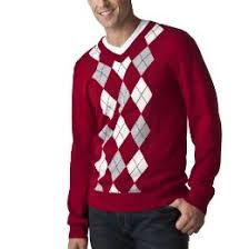 men u0027s red argyle sweater on sale at target for 17 99 today