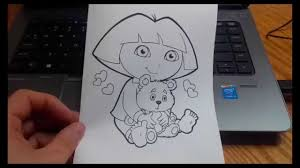 turn coloring pages into quick birthday or christmas cards youtube
