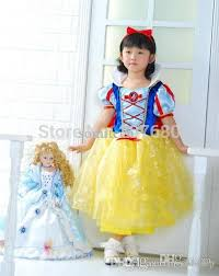 Snow White Halloween Costume Toddler Wholesale Party Cosplay Costume Supplier Cute Snow