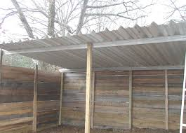 Awning Shed Loafing Shed