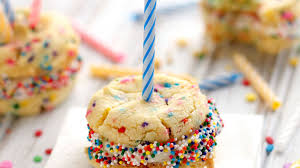 birthday cake cookies recipe bettycrocker com