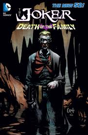 preivew the joker death of the family hardcover book comic