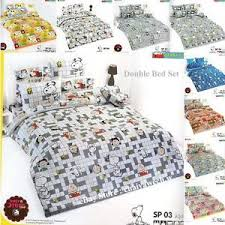 Snoopy Bed Set Peanuts Snoopy Official License Bedding Vintage Toto Bed Sheet