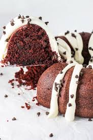 red velvet bundt cake homemade hooplah