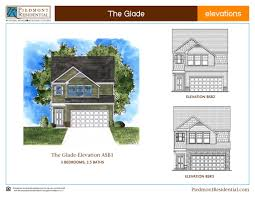 House Building Plans And Prices Glade Piedmont Residential Home Builder In Canton Ga