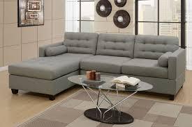 Miley Table L Miley Grey Linen L Shape Sofa