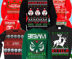 heavy metal sweaters officially jumped the