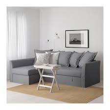 Sleeper Sectional Sofa Ikea Holmsund Sleeper Sectional 3 Seat Nordvalla Medium Gray Ikea