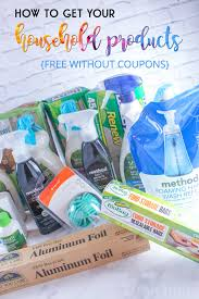 how to get your household products free without coupons sarah